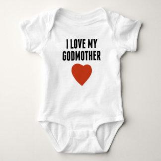 Eu amo minha madrinha camiseta
