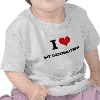 Eu amo minha madrinha tshirts