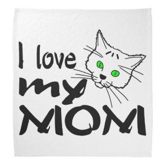 Eu amo minha mamã faixas para cabeça