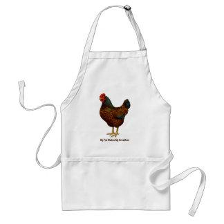 Eu amo minhas galinhas de Barnevelder Avental