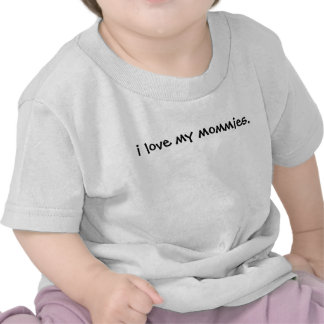 Eu amo minhas mamãs Tee- seu borracho posso ser or Camiseta