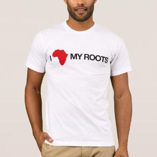 Eu amo minhas raizes #2 camiseta