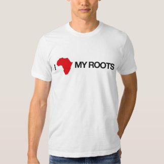 Eu amo minhas raizes #2 camisetas
