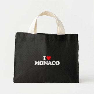 EU AMO MONACO BOLSAS DE LONA
