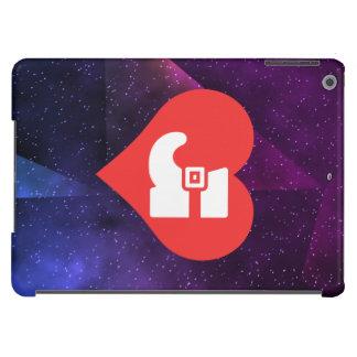 Eu amo montantes capa para iPad air