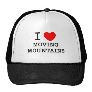 Eu amo mover montanhas boné
