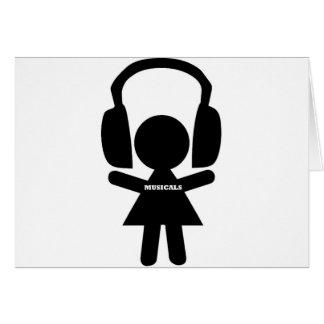 Eu amo Musicals, Musicals Cartão Comemorativo