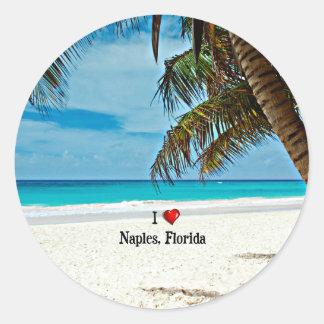 Eu amo Nápoles, Florida Adesivo