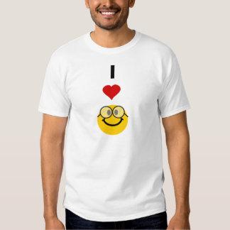 Eu amo nerd t-shirt