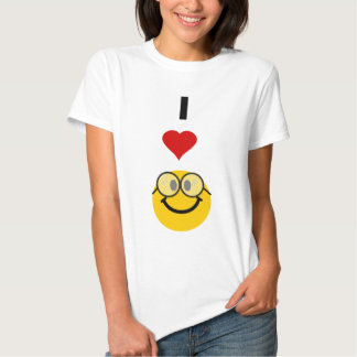 Eu amo nerd tshirts