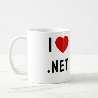 Eu amo .NET Caneca