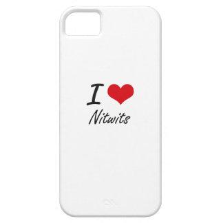 Eu amo Nitwits Capas Para iPhone 5