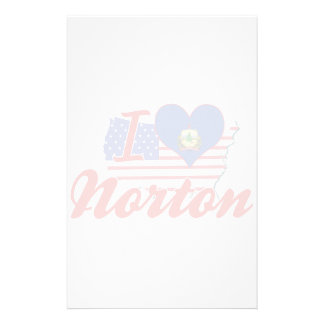 Eu amo Norton, Vermont Papel Personalizados