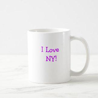 Eu amo          NY! Caneca