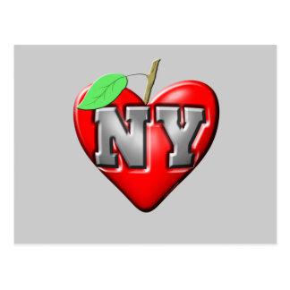 Eu amo NY Cartão Postal