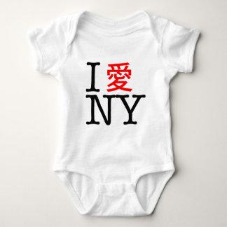Eu amo NY (chinês) Camiseta