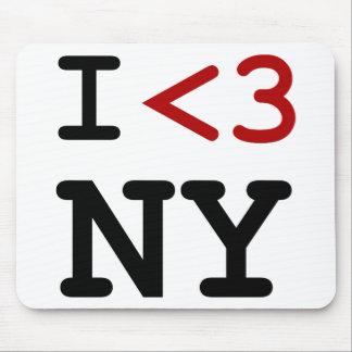 Eu amo NY Mouse Pad