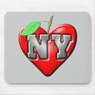 Eu amo NY Mouse Pads