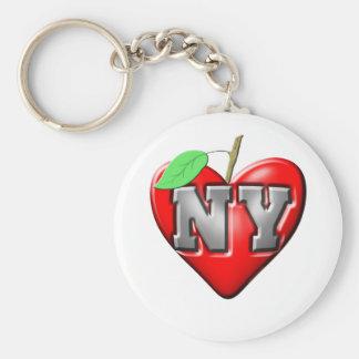 Eu amo NY Chaveiro
