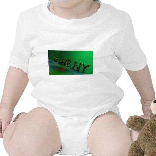 Eu amo Ny Macacãozinho Para Bebê