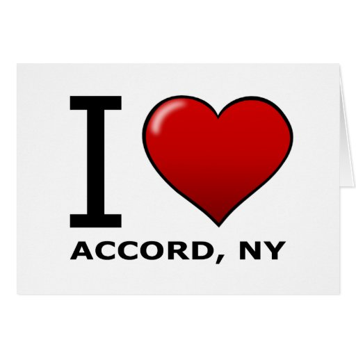 Eu amo o acordo, NY Cartão