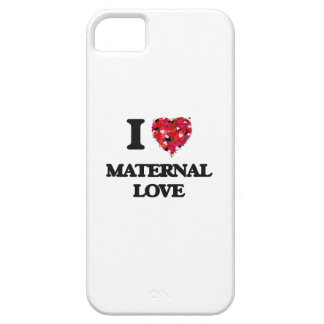 Eu amo o amor materno capa barely there para iPhone 5