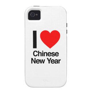 eu amo o ano novo chinês capinhas para iPhone 4/4S