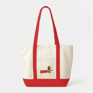 Eu amo o bolsa da bolsa da reggae