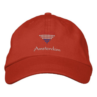 Eu amo o boné de Amsterdão - chapéu holandês da