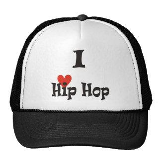 Eu amo o boné de Hip Hop