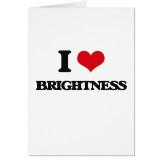 Eu amo o brilho