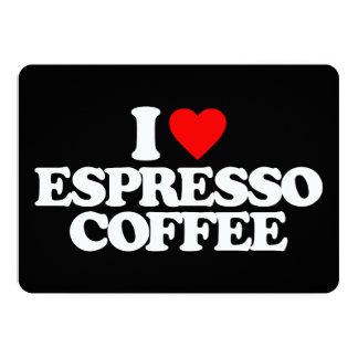 EU AMO O CAFÉ DO CAFÉ CONVITE