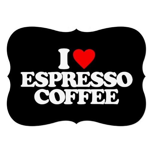 EU AMO O CAFÉ DO CAFÉ CONVITE PERSONALIZADO