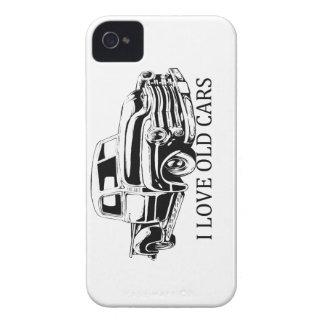 Eu amo o caso velho do iPhone 4/4S dos carros Capa Para iPhone