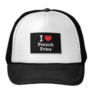 Eu amo o chapéu das batatas fritas boné