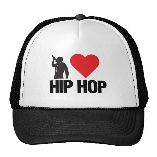 Eu amo o chapéu de Hip Hop Bone