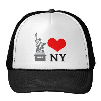 Eu amo o chapéu de NY Boné
