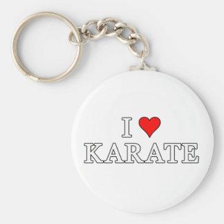 Eu amo o chaveiro do karaté