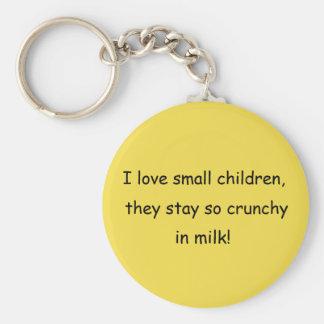 Eu amo o chaveiro pequeno das crianças