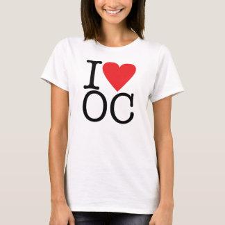 Eu amo o Condado de Orange Camiseta