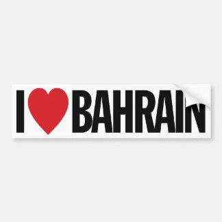 """Eu amo o coração Barém decalque do vinil de 11"""" de Adesivo Para Carro"""