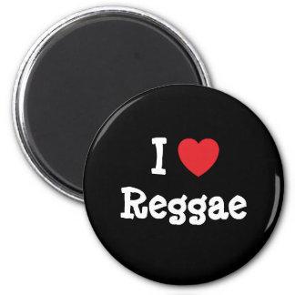 Eu amo o costume do coração da reggae personalizad imas