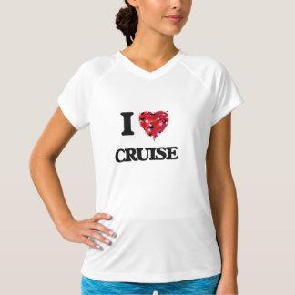 Eu amo o cruzeiro t-shirt