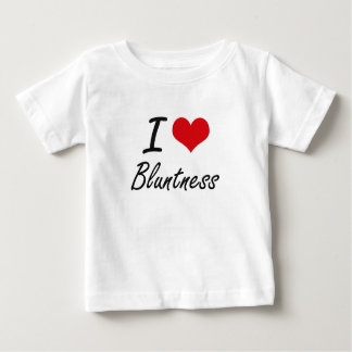 Eu amo o design artístico da aspereza t-shirt