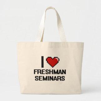 Eu amo o design de Digitas dos seminários do Sacola Tote Jumbo