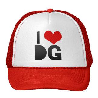 Eu amo o DG Boné
