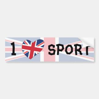 Eu amo o esporte adesivo