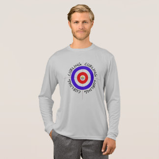 Eu amo o esporte da camisa de ondulação