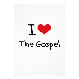Eu amo o evangelho convites