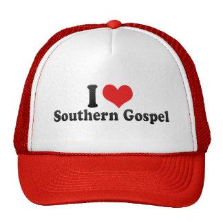 Eu amo o evangelho do sul bonés